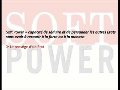 "Le ""soft power"" en une minute"