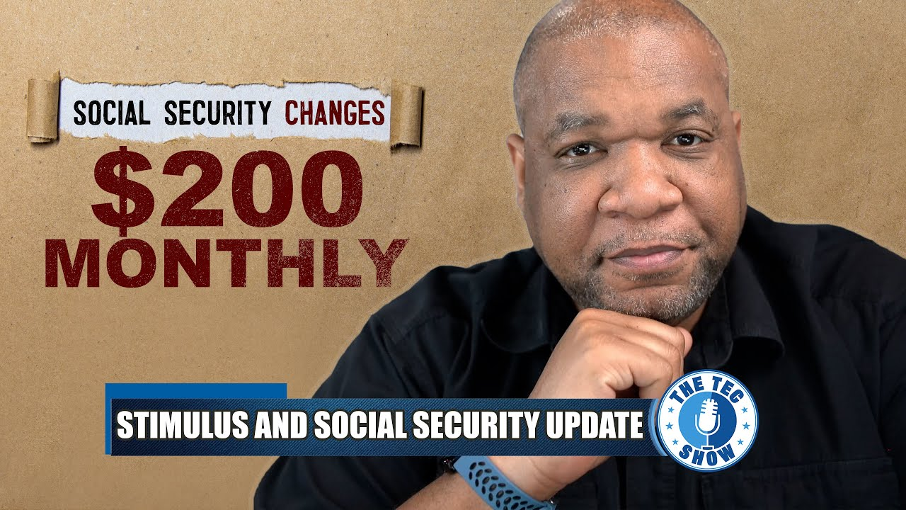 Social Security Changes $20 Per Month Increase + Stimulus Check Update