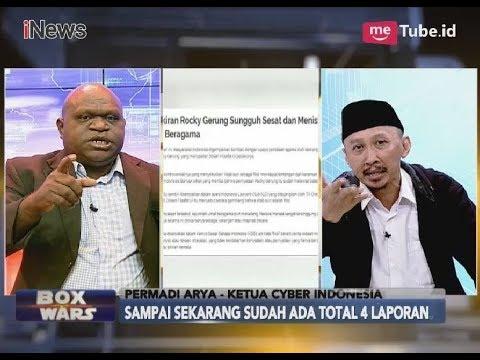 Emosi!! Ada Empat Laporan, Rocky Gerung Belum Ajukan Permintaan Maaf Part 01 - Box Wars 18/04