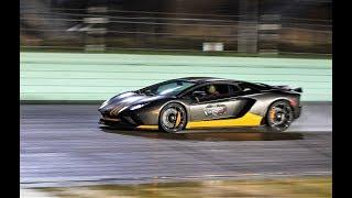 Lamborghini Aventador VS McLaren 650S VS Ferrari Acceleration NIGHT RACE BEST OF SUPERCAR SOUNDS