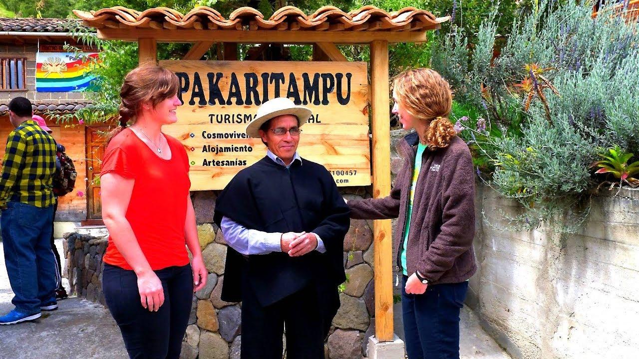 Centro de Turismo Cultural-Comunitario Pakari Tampu /  Ecuador-Loja-Saraguro-Ñamarin