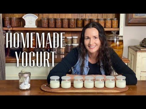 MAKE YOGURT WITH A YOGURT MAKER - DIY Yogurt Making