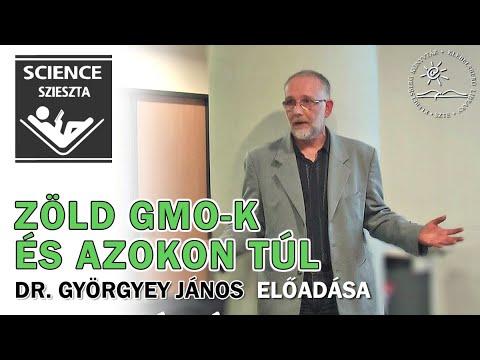 A SCI-eszta gyűjtemény bemutatja: Zöld GMO-k és azokon túl - Dr. Györgyey János előadása