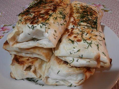 Армянские блинчики из лаваша. Просто и вкусно!