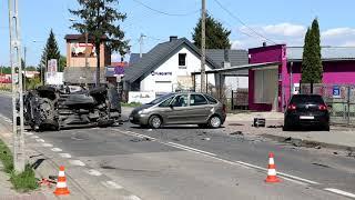 Tragiczny wypadek na ulicy Lubiejewskiej (10.05.20)