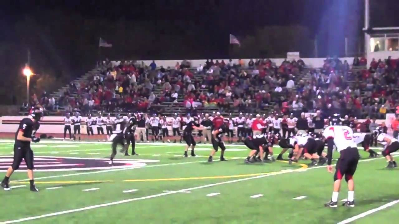 Dodgers Homecoming Game Fort Dodge Vs Mason City Youtube