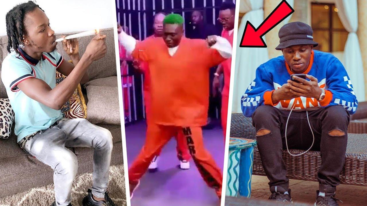 Naira Marley Beats Zlatan Ibile Mercilessly In Dance Challenge