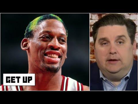 Brian Windhorst stunned by Dennis Rodman's mid-season Vegas vacation | Get Up