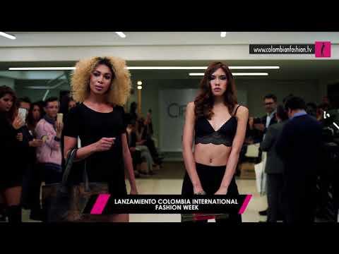 Reviva algunos momentos en lanzamiento del  Colombia International Fashion Week 2017 #CIFW2017