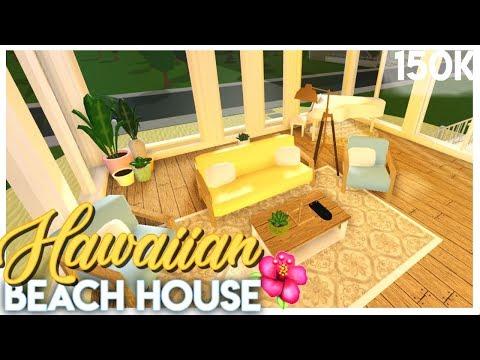 tropical-hawaiian-beach-house-|-bloxburg-build-|-sunsetsafari