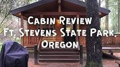 Cabin Review, Fort Stevens