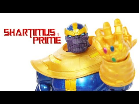 Marvel Legends Thanos Walmart Exclusive Infinity Comic Action Figure Toy Review
