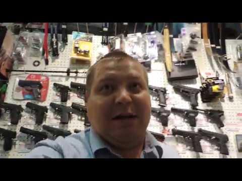 ПНЕВМАТИЧЕСКОЕ ОРУЖИЕ.Магазин мужских игрушек. Weapon Shop.