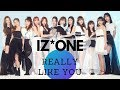 IZONE - Really Like You (3D / Concert / Echo + Bass boosted) 'HEART*IZ'