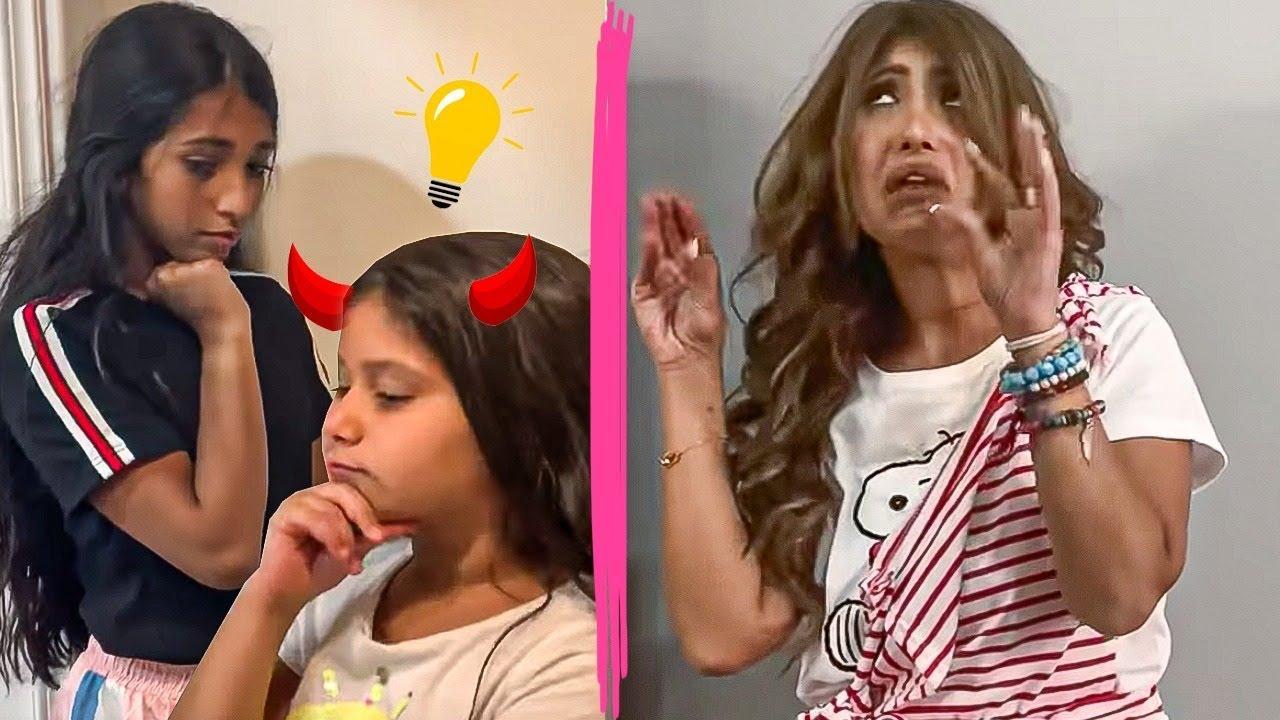 يوميات ميمي ونور البنات يسون خطه على أمهم Youtube