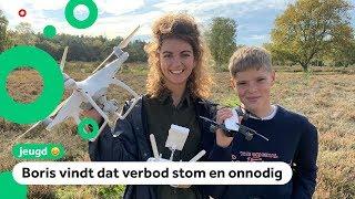 Vliegen met echte drones straks verboden voor kinderen