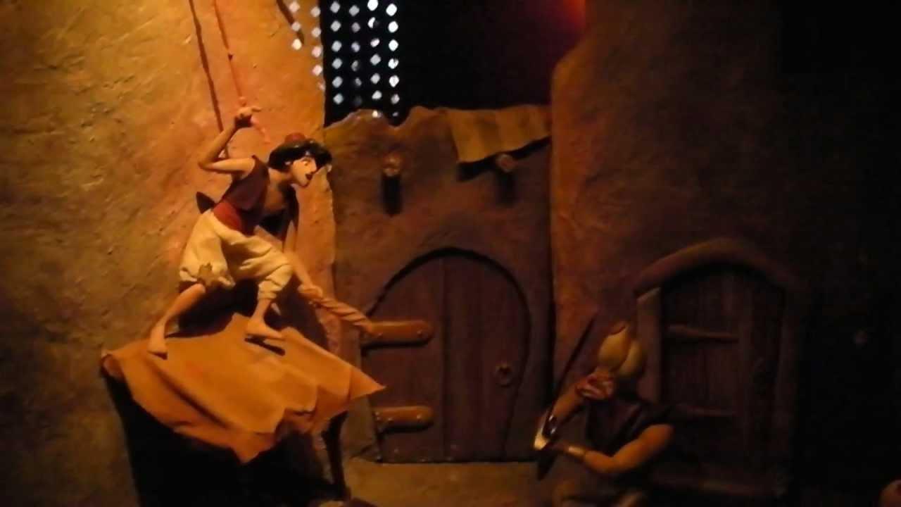 Disneyland paris 2011 le passage enchant d 39 aladdin - Le singe d aladdin ...