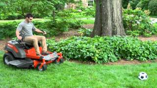 NEW Z200 Series Zero Turn Mowers from Husqvarna