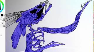 Speedpaint| Fish never die| Space Mask