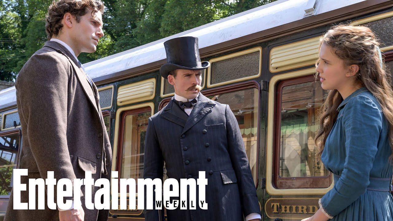 Millie Bobby Brown & Henry Cavill In Enola Holmes First Look | News Flash | Entertainment Weekly thumbnail