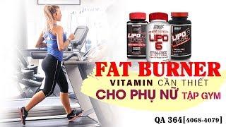 Hỏi đáp thể hình 364 - Fat burner, vitamin dành cho phụ nữ có thật sự cần thiết không?
