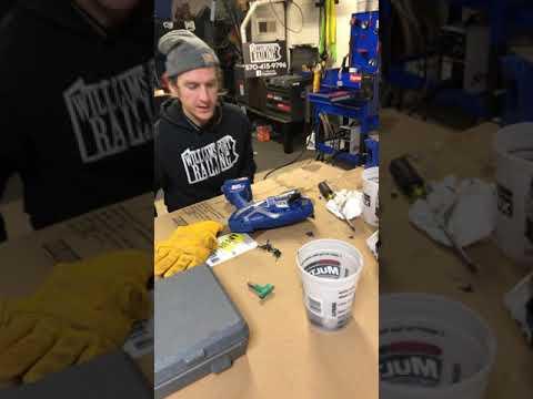 Graco ultimate airless handheld repair pt1 (I didn't fix it)