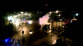 Brand kruispunt Stationsweg / Burgemeester van Roijensingel Zwolle