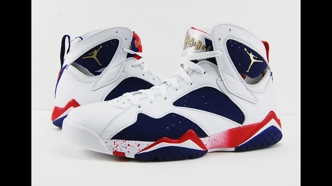 Air Jordan 7 Olympic Alternate (Tinker) 2016 Review + On Feet - YouTube 1114b1912bdc