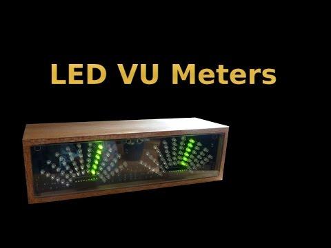 Video: How to make Arduino VU Meter UPDATED!