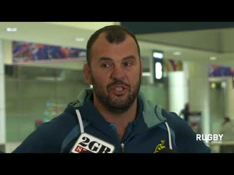 Full press conference: Wallabies arrive in Sydney