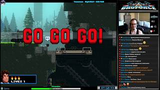 Broforce прохождение #2 [Hard] | Игра на (PC Steam, PS4) Free Lives Games 2014-2015 Стрим HD RUS
