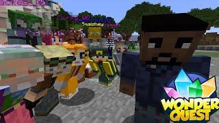 Minecraft - WONDER QUEST - Hunger Games With Stampy & Friends!