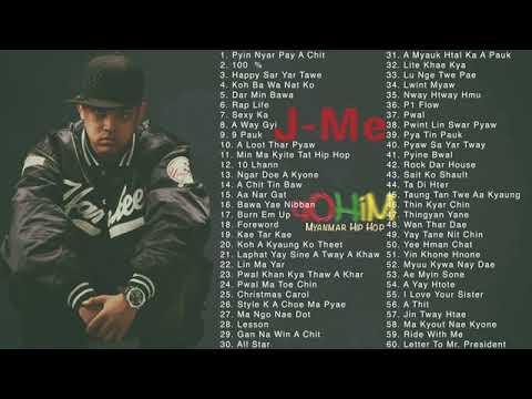 J Me Greatest Hits  Myanmar song