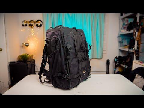 Lowepro Pro Trekker 650 AW Camera Backpack Review