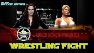 Wrestling Fight - Stephanie Mc Mahon vs Stephanie York (WWE2k14)