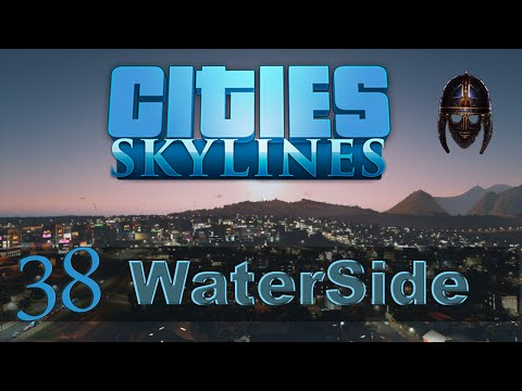 Cities Skylines :: Waterside : Part 38 Amsterdam Palace