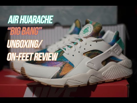 Air Huarache Print: Sneaker Unboxing and Review