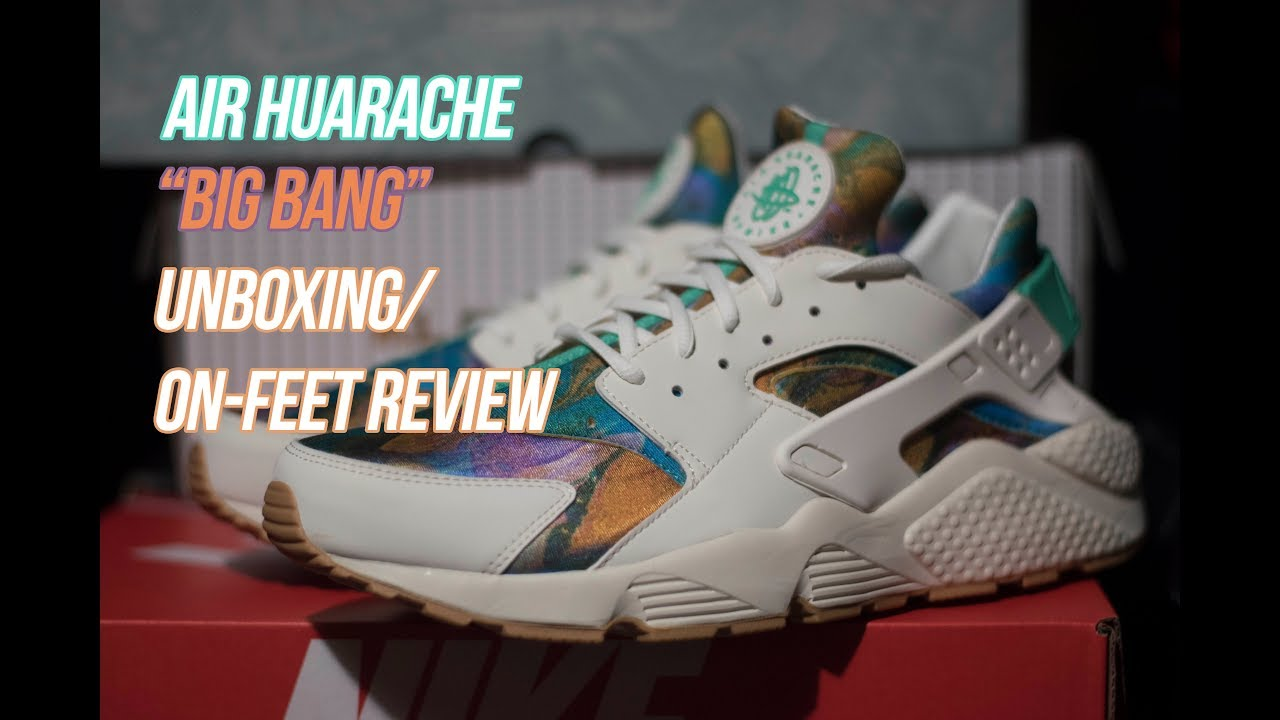 9c05e6672bc6 Air Huarache Print  Sneaker Unboxing and Review - YouTube