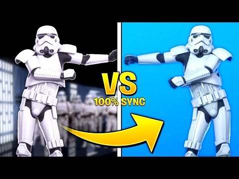 *BEST* Fortnite Dances & Emotes in Real Life..! (Fortnite X Star Wars)