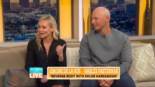 Simone De La Rue and Harley Pasternak talk all things Khloe Kardashian Revenge Body with Access Live