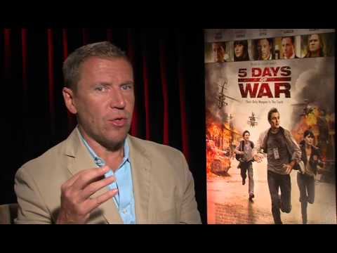 Renny Harlin Interviewed about his new film 5 Days of War