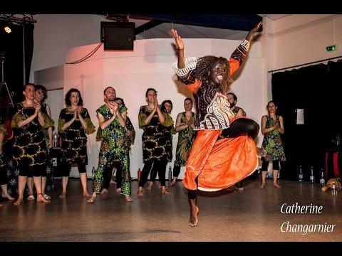 """Saly Diedhiou """"Partage et rencontres, ici et ailleurs"""" (Saly Danse, asso Afrikanté)"""