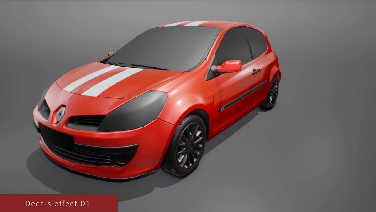 [Unreal Engine 4] - Carpaint Material - Available now !