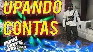 GTA V PC UPANDO CONTA - MOD MENU PC - CONTA DE CLIENTE- PC