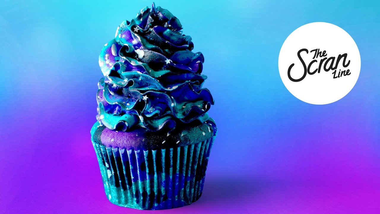 Girl Youtube Wallpaper Midnight Galaxy Cupcakes The Scran Line Youtube