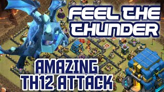 Clash of Clans Amazing TH12 Attack Using Electro Dragon