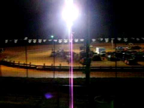 Central Alabama Motor Speedway  Feature Race 4-17-2010 #18 Lisa Woods  Wins