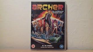 Archer Season 1 DVD Review
