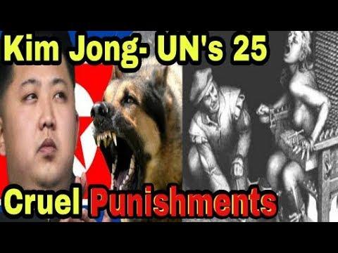 Kim Jong Un's 25 Cruel Punishments