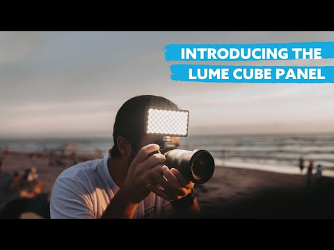 The Lume Cube Panel is a bi-color continuous LED light the size of a smartphone